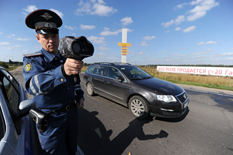La multa più alta per gli automobilisti russi è salita a 50mila rubli, circa 1.500 dollari (Foto: Itar-Tass)