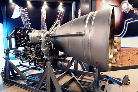 Motori NK-33 attualmente utilizzati nella prima fase del sistema di lancio Antares, sviluppato dagli Stati Uniti per consegnare carichi alla Stazione Spaziale Internazionale (Iss) (Foto: RIA Novosti / Yuri Strelets)