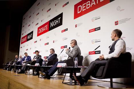 """La Russia sarà tra i leader nella produzione hi-tech: se ne è discusso alla """"Notte dei dibattiti"""" di Mosca (Foto: Ufficio Stampa)"""