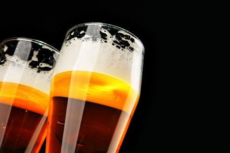 L'import di birra costituisce soltanto il 2,5 per cento del mercato, circa 250 milioni di litri all'anno (Foto: Lori/Legion Media)