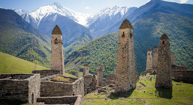 Le antiche torri dei Galgai (Foto: lunatik38.livejournal.com)