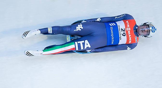Armin Zoeggeler rappresenterà l'Italia ai Giochi olimpici invernali di Sochi 2014 (Foto: Imago / Legion-Media)