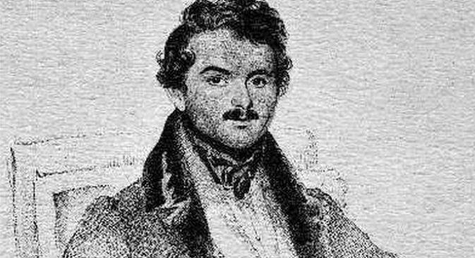 Il tenore russo Nicola Ivanoff (Disegno di Childe; incisione di G. Stodart)