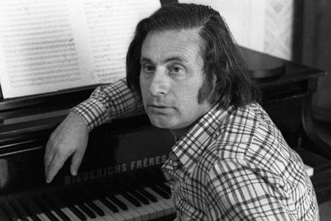 Il compositore Alfred Schnittke (Foto: Ria Novosti)
