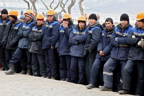 Lavoratori stranieri (Foto: Ria Novosti)
