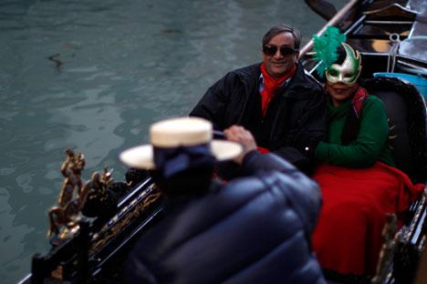 Turisti a Venezia (Fonte: Reuters\Vostock)