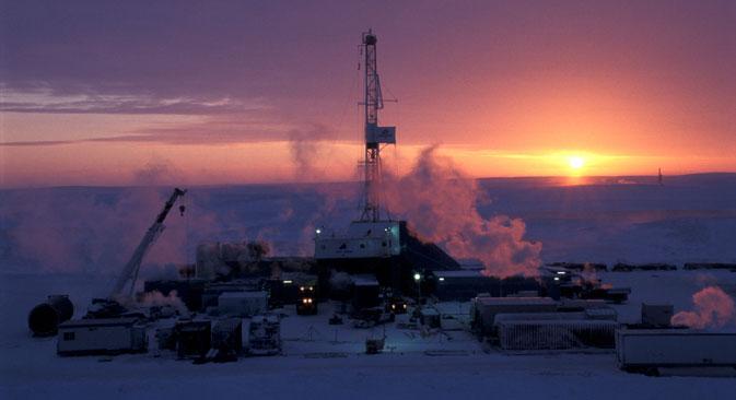 Lavori di estrazione al Circolo Polare Artico (Foto: Alamy / Legion Media)
