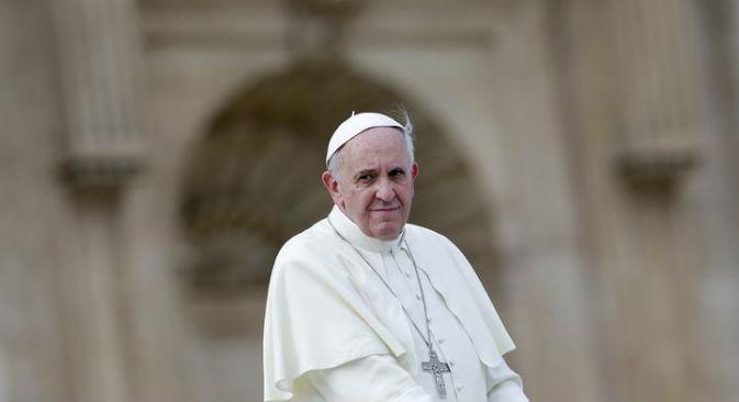 Papa Francesco riceve il Presidente russo Vladimir Putin in Vaticano (Foto: Reuters/Vostock Photo)