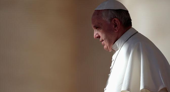 Papa Francesco accoglierà il Presidente della Federazione Russa Vladimir Putin in Vaticano (Foto: Reuters/Vostock Photo)