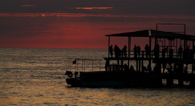 Il divertimento scatta al tramonto (Foto: Lori/Legion Media)