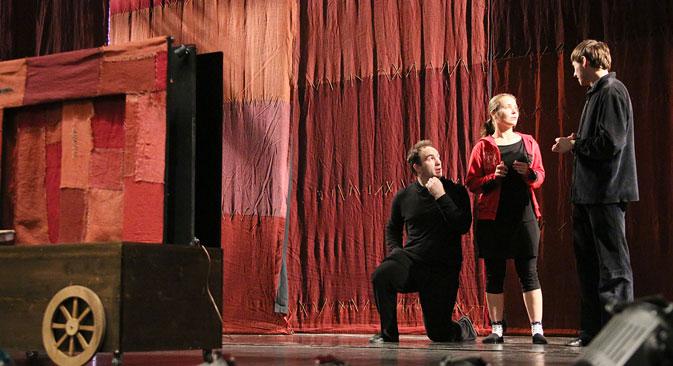 La compagnia teatrale fiorentina Zaches Teatro (Foto: Tatiana Andreeva)