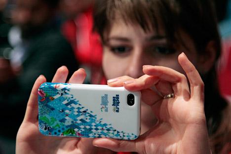 Telefoni e nuove applicazioni per viviere al meglio l'avventura di Sochi 2014 (Foto: AP)