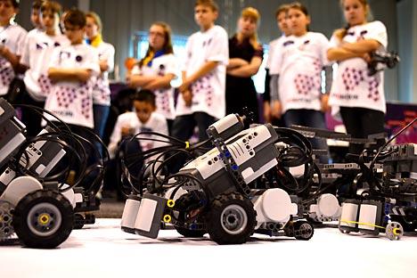 Un momento del RoboSib (Fonte: Rbth)