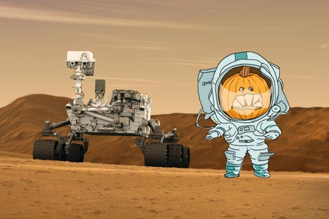 Il dispositivo russo DAN contribuirà a cercare forme di vita su Marte (Credit:  NASA / Сollage di Natalya Mikhailenko)