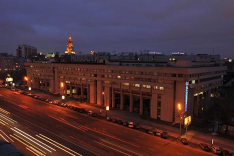 La sede di Ria Novosti a Mosca (Foto: Ria Novosti)