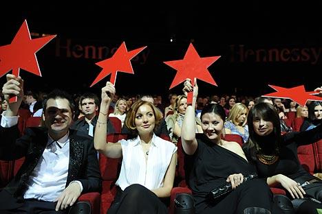 """La notte dei """"pubblivori"""", dedicata ai migliori spot pubblicitari (Foto: Itar Tass)"""
