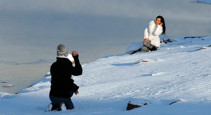 Belle ed eleganti, le donne russe si vestono in maniera perfetta in qualsiasi occasione (Foto: Reuters)