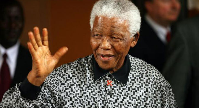 Nelson Mandela (Foto: Reuters/Vostock Photo)