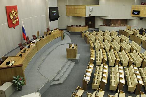 Il Parlamento russo è composto da due camere: quella bassa, la Duma di Stato, e quella alta, o Consiglio federale della Russia (Foto: Kurlyaeva Olesya / RG)