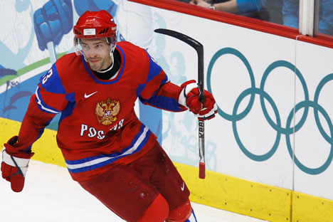 Pavel Datsyuk, attaccante dei Detroit Red Wings (Foto: Reuters)