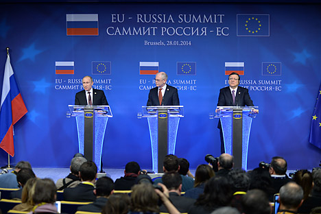 Summit tra Russia e UE a Bruxelles (Foto: Photoshot / Vostock Photo)