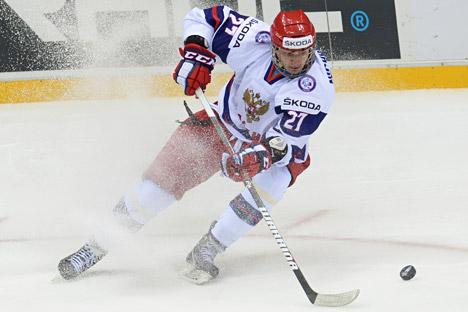 Valery Nichushkin, attaccante dei Dallas Stars (Foto: Grigory Sokolov / RIA Novosti)