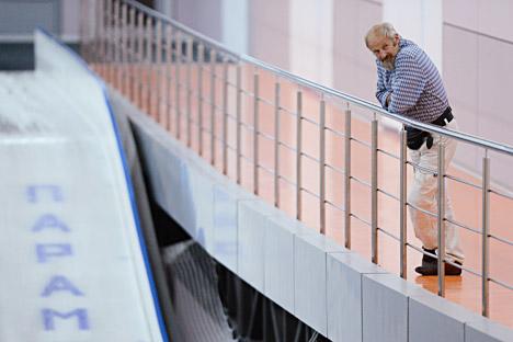 L'ex slittinista italiano Walter Plaikner (Foto: Ria Novosti)