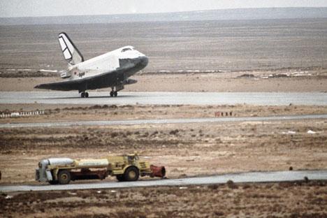Lo shuttle russo Buran (Foto: Ria Novosti)