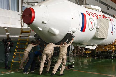 Il governo russo si occuperà della ridistribuzione dei poteri dell'Agenzia spaziale federale Roskosmos e della Corporazione aerospaziale riunita (ORKK), attualmente in via di costituzione (Foto: Reuters)