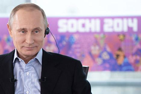 Il Presidente Vladimir Putin è intervenuto per fare il punto della situazione sulle imminenti Olimpiadi di Sochi (Foto: Reuters)