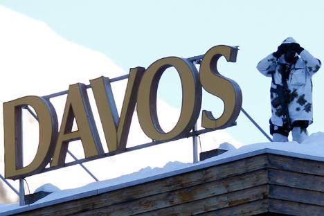 Il forum di Davos ospiterà oltre 2.500 persone, tra cui 40 capi di Stato e di Governo (Foto: Reuters)