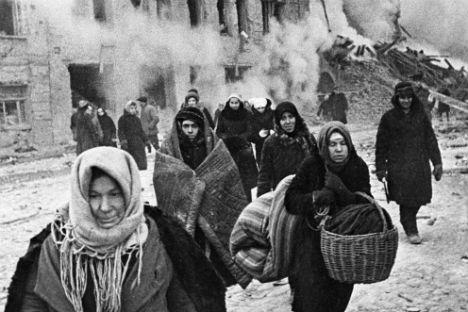 Leningrado durante l'assedio (Foto: Ria Novosti)