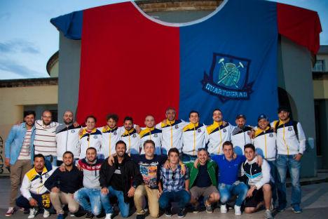 I ragazzi dell'associazione Quartograd (Foto: archivio personale)