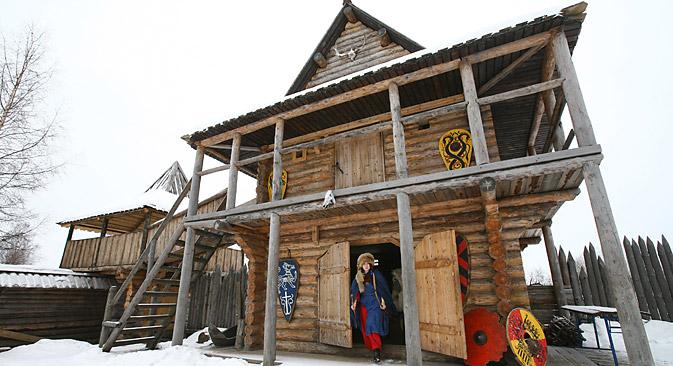 Un'abitazione tradizionale russa (Foto: PhotoXPress)