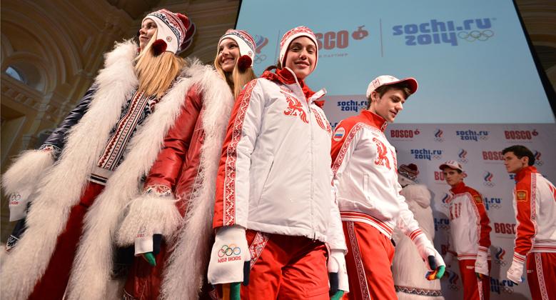 Le divise degli atleti russi (Foto: Ria Novosti)