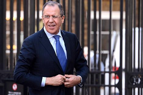 Il ministro degli Esteri della Federazione Russa, Sergei Lavrov (Foto: Reuters)