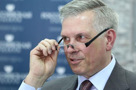 Sergei Dankvert, presidente di Rosselkhoznadzor (Foto: PhotoXPress)
