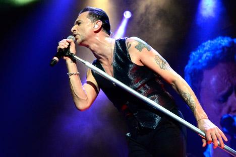 I Depeche Mode si esibiranno a Mosca e San Pietroburgo (Foto: DPA/Vostock-Photo)