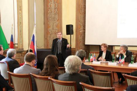 La presentazione della Guida nella sede del Centro Russo di Scienza e Cultura di Roma (Foto: Ufficio Stampa)