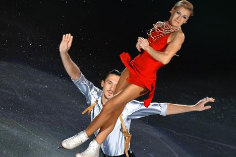 Tatiana Volosozhar e Maksim Trankov (Foto: Vladimir Pesnya / RIA Novosti)