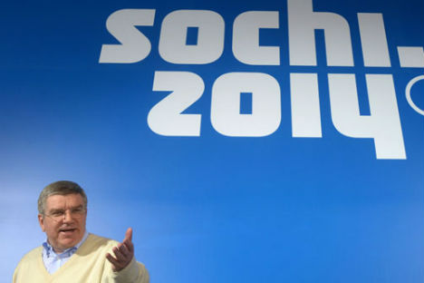 Il presidente del Comitato olimpico internazionale Thomas Bach (Foto: Grigory Sisoev / Ria Novosti)