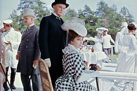 """L'attrice Tatiana Samojlova, protagonista del film sovietico """"Anna Karenina"""", girato nel 1967 (Foto: Itar Tass)"""