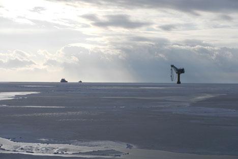 È la prima volta che, nel sito di estrazione, emergono riserve così grandi di combustibile. A seguito di questa scoperta, Gazprom dovrà probabilmente cambiare l'intero sistema di estrazione del giacimento (Foto: Itar Tass)