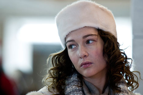 L'attrice italiana Cristiana Capotondi nel ruolo di Sara, l'insegnante di pattinaggio artistico (Foto: Ufficio Stampa)