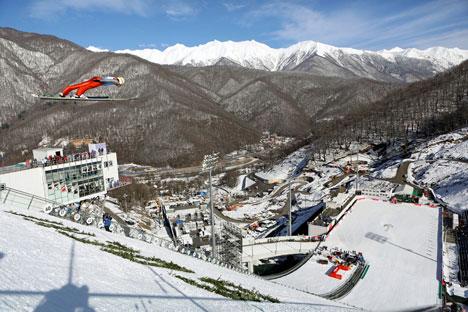 Impianti sportivi a Sochi (Foto: DPA / Vostock Photo)