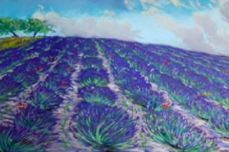Uno dei quadri in mostra (Foto: archivio personale)