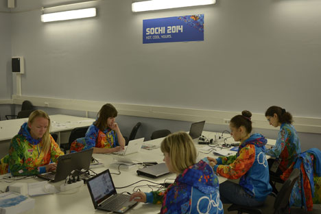 Volontari a Sochi (Foto: Mikhail Mordasov)