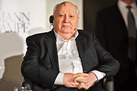 Secondo Mikhail Gorbaciov (in foto), la Crimea era stata annessa all'Ucraina sulla base di leggi sovietiche approvate senza prendere in considerazione l'opinione del popolo (Foto: Photoshot / Vostock Photo)