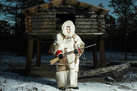 Un cacciatore della regione Chanty-Mansijsk (Foto: Fedor Telkov)