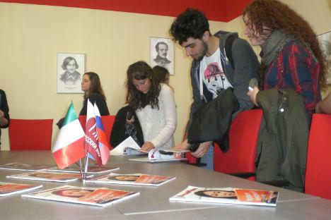 """Il Centro di lingua e cultura """"Russkij Mir"""" di Napoli diventerà il nuovo punto di riferimento per tutti gli amanti della lingua e della letteratura slava (Foto: Ufficio Stampa)"""
